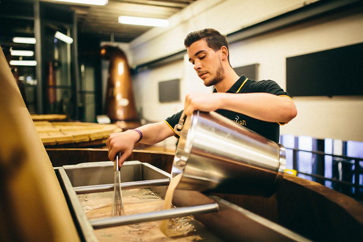Whiskyherstellung: Grundrohstoff Hefe