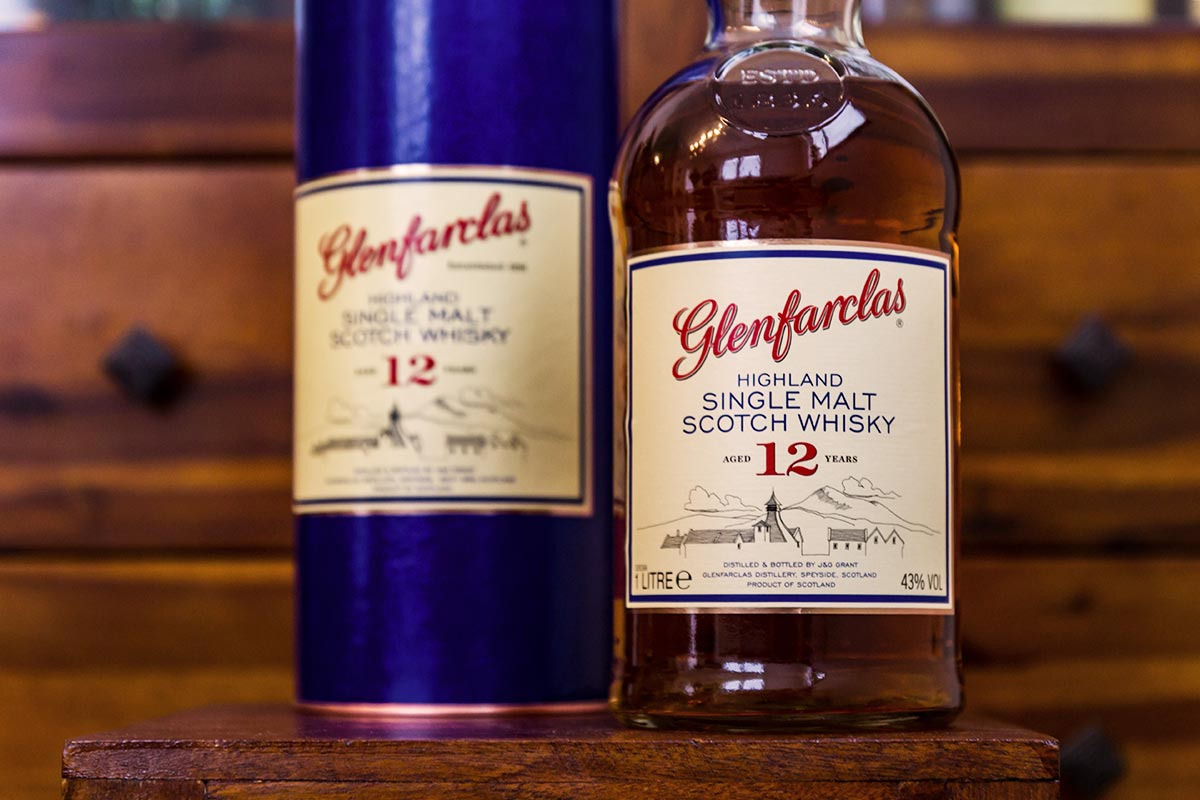 Glenfarclas Single Malt Whisky 12 Jahre