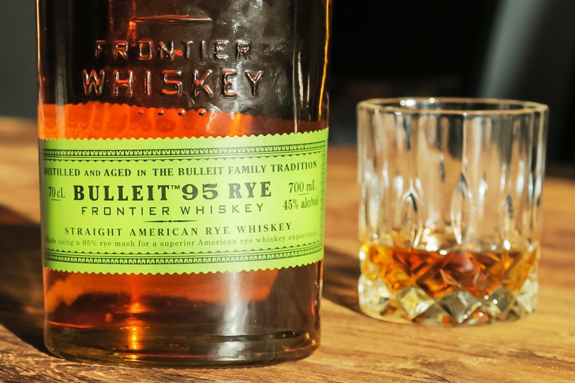 Bulleit 95 Rye Frontier Whiskey