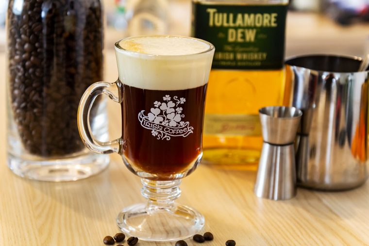 Irish Coffee Mixanleitung, Rezept