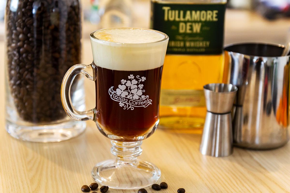 Irish Coffee Mixanleitung, Rezept