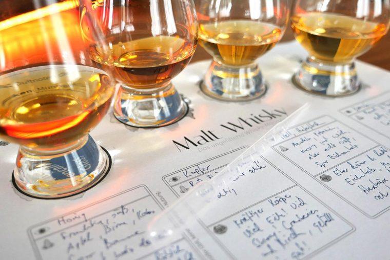 Helfer für dein nächstes Whiskytasting