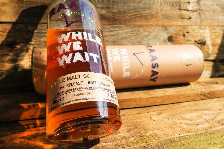 Raasay - While We Wait - Single Malt Scotch Whisky