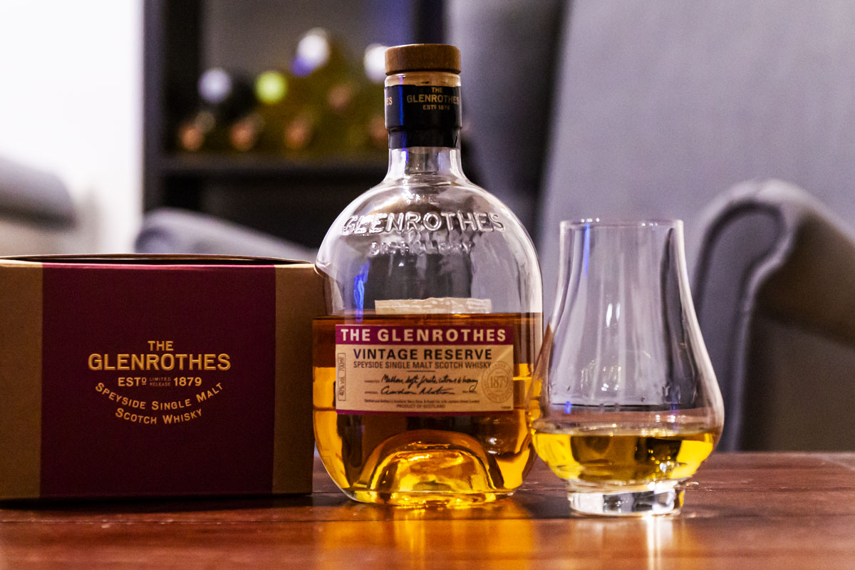 The Glenrothes Vintage Reserve Single Malt Scotch Whisky