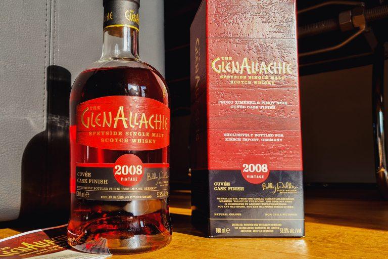 GlenAllachie 2008-2020 PX & Pinot Noir Cuvee Flasche