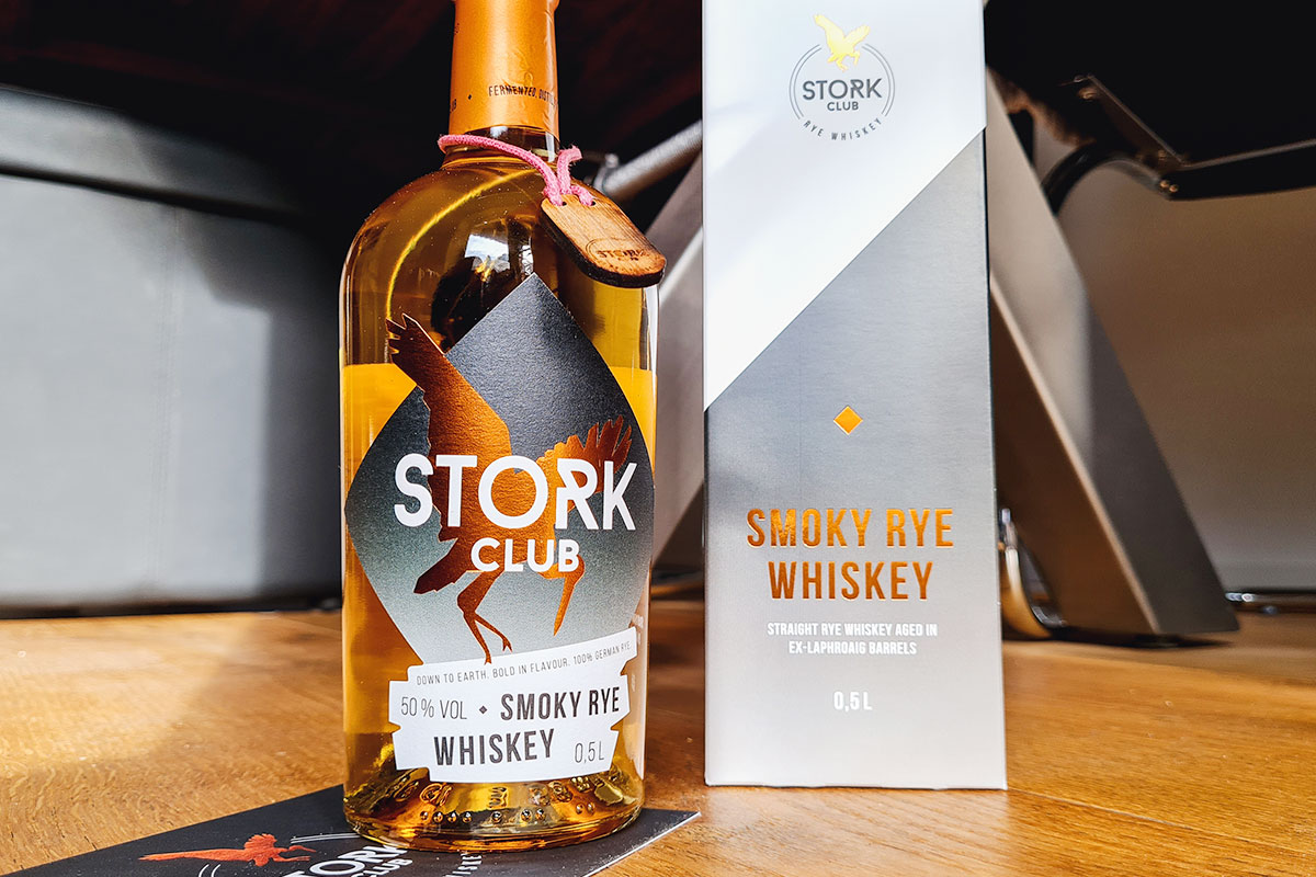 Stork Club Smoky Rye Whiskey